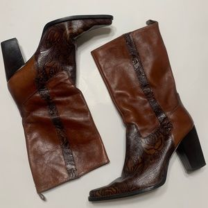 Western Cow Girl Boots Sz 8.5